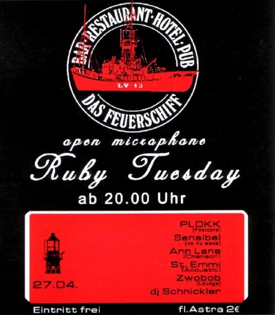 27.04.04 Hamburg, Feuerschiff