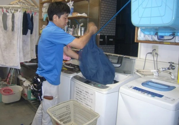 小森くん洗濯