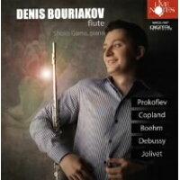 フルートCD「プロコフィエフ&コープランドetc/デニス・ブリアコフ」