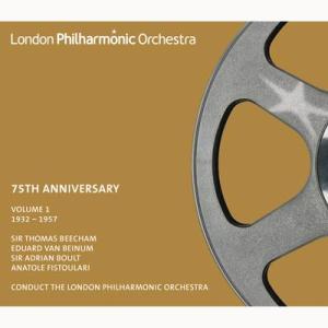 オーケストラCD「ロンドン・フィル75周年記念ボックスセット第1巻(4CD)」