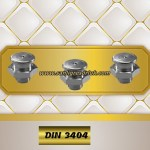 Button-head grease nipples M1 DIN 3404 Stainless Steel