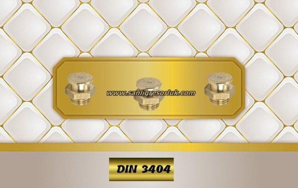 Button-head grease nipple T1/B DIN 3404 MS