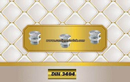 Button-head grease nipple T1/B DIN 3404