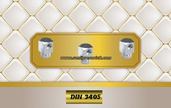 Flush Type greasenipple type W (D3a) DIN 3405