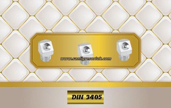 Flush Type greasenipple type K (D2) DIN 3405 45°zinc-plated