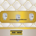 Flush Type greasenipple type W (D3) DIN 3405 90° zinc-plated