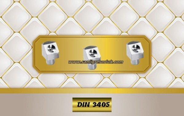Flush Type greasenipple type K (D2a) DIN 3405