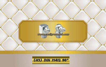 Hydraulic grease nipple Type H90° (H3) DIN 71412