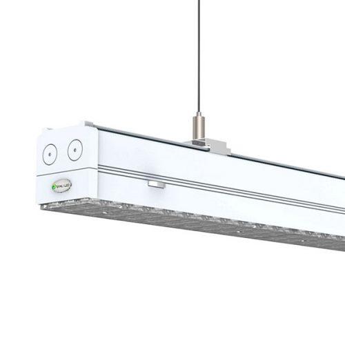 Left Asymmetric 25º 1.2/1.5M Linear LED High Bay Fittings
