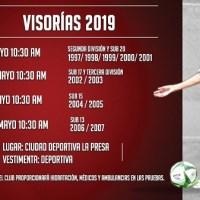 Atlético de San Luis invita a visorías para categorías inferiores