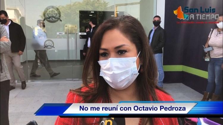 No me reuní con Octavio, coincidimos y la foto me la pidieron: Sonia Mendoza - VIDEO