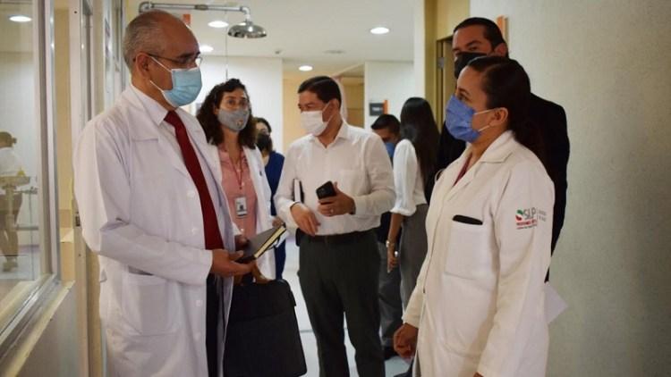 Avanza positivamente el proceso de cambio al INSABI del Hospital General de Soledad y el Hospital Central