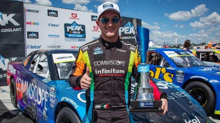 Se puso en marcha la sexta fecha de NASCAR Peak México Series
