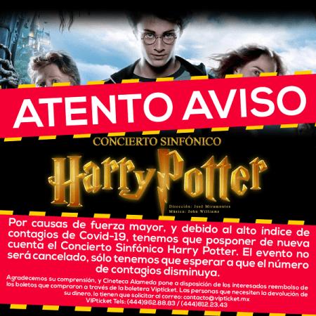 Cineteca Alameda vuelve a posponer Concierto Sinfónico Harry Potter