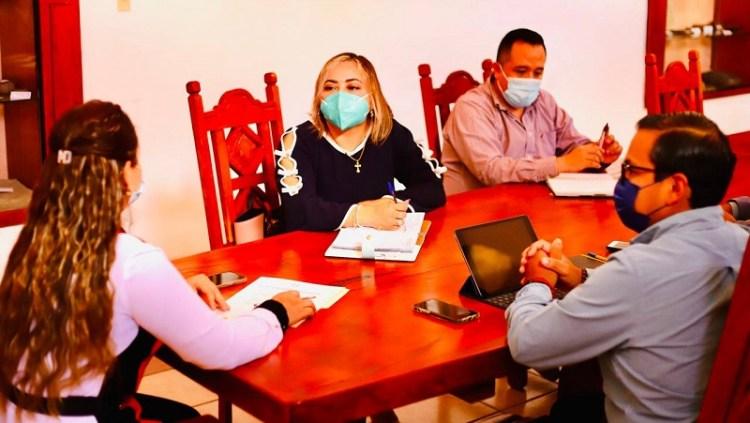 Revisan agendas de salud pública Ayuntamiento de Villa de Reyes y Jurisdicción Sanitaria no. 3.