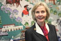 Lois Capps in her office in Washington, D.C.