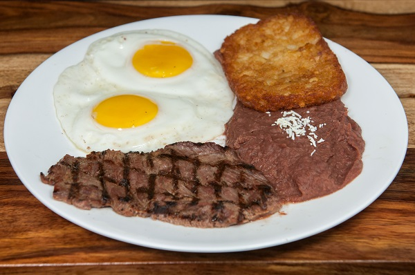 4. Steak & Egg