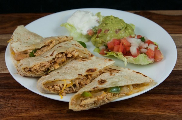 42. Chicken Quesadilla