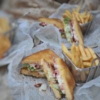 BLT sandwich & BLT sallad