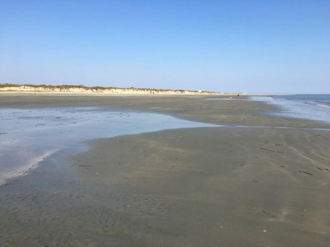 Sullivans Island's large beach