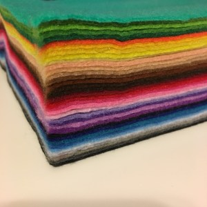 Felt! Great list of busy book supplies.