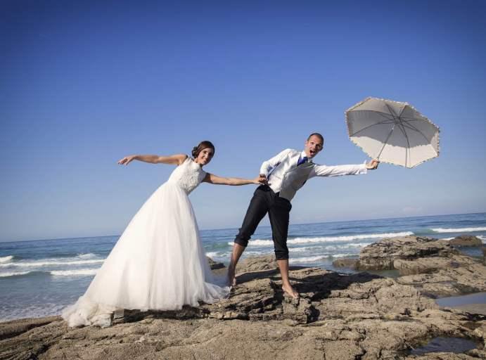Foto boda divertida