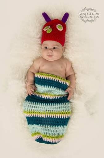 Foto bebé disfrazado