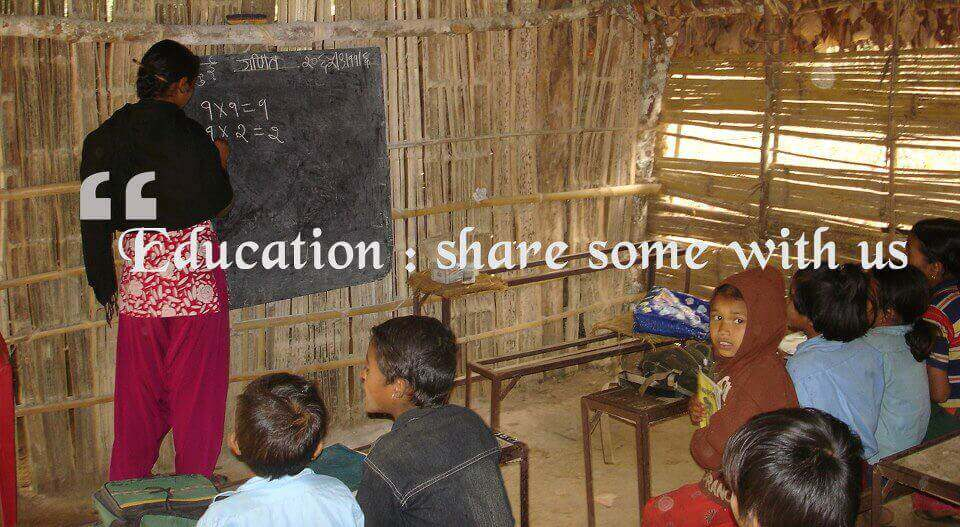 Education – Share Some With Us