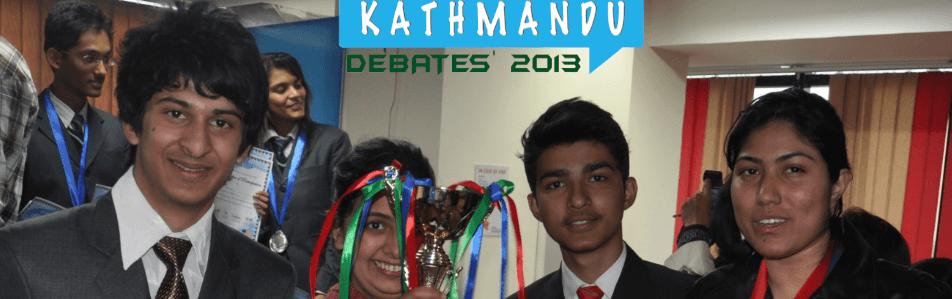 Winners of Kathmandu Debates' 2013