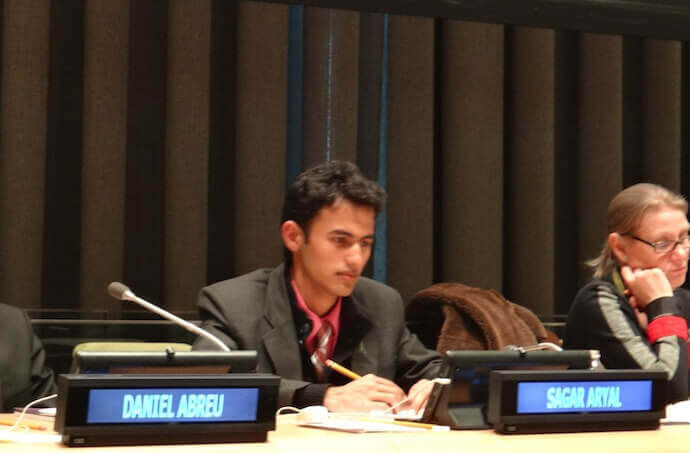 Sagar Aryal Unesco Side Event
