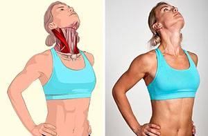 Разтягане на предните мускул
