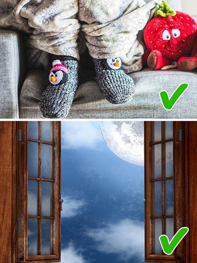 Дръжте краката си топли а мислите си студени