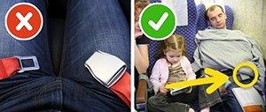 Закопчайте предпазния колан над дрехите си