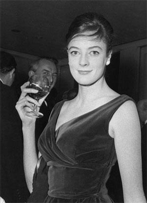 Маги Смит (професор Минерва МакГонагал) на 27, 1962