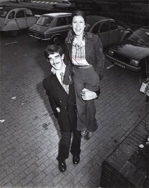 Питър Майхю (Чубака) И Чарли Фишър, 1977