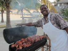 John Harvey of Robin's Kitchen San Pedro, Belize