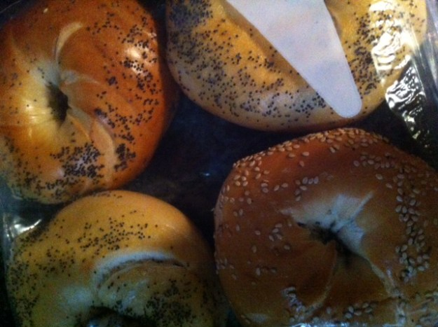 bagels packed