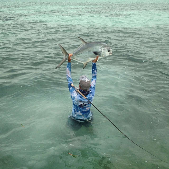 Tagging giant tarpon in belize these fish are important for Fishing san pedro belize