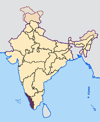 Kerala_in_India