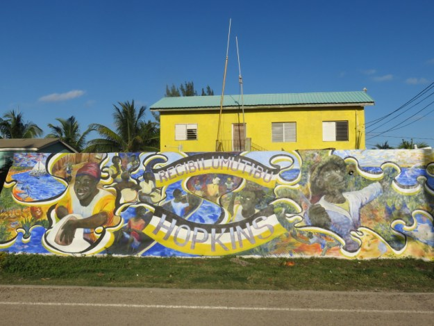 Mural Garifuna Hopkins Belize