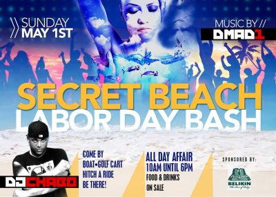 secret beach bash