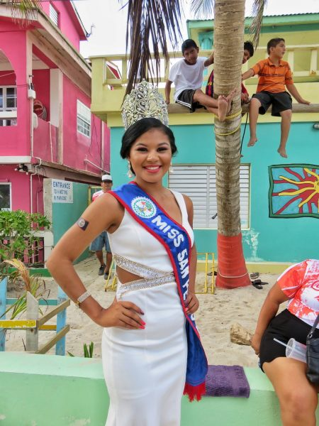 Miss San Pedro 2016-2017 Belize