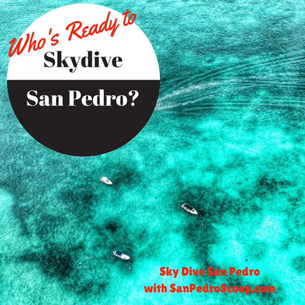 Win a chance to Skydive over GORGEOUS Ambergris Caye, Belize.  Raffle ends Feb 2017.