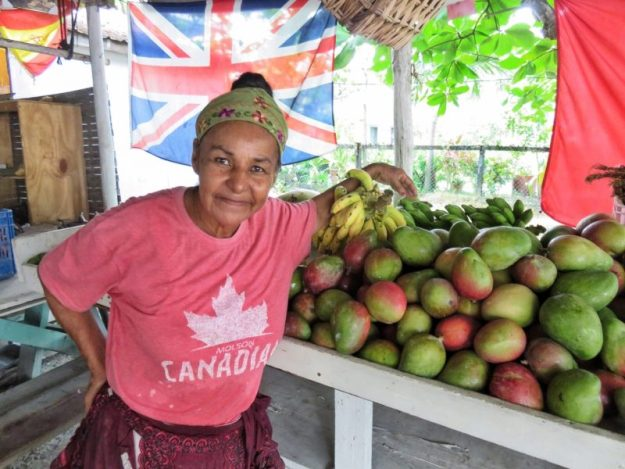Maria Fruit Stand Ambergris Caye, Belize