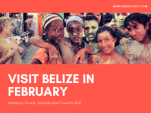 February is one of the busiest months of the year in Belize? That doesn't mean huge crowds - it means fairs and festivals and concerts and fun events. See you in Belize.