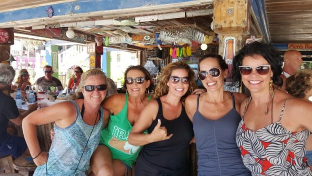 Bar crawl at Crazy Canucks San Pedro Belize