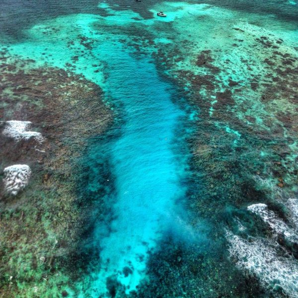 Hol Chan Marine Reserve by Astrum Helicoputer