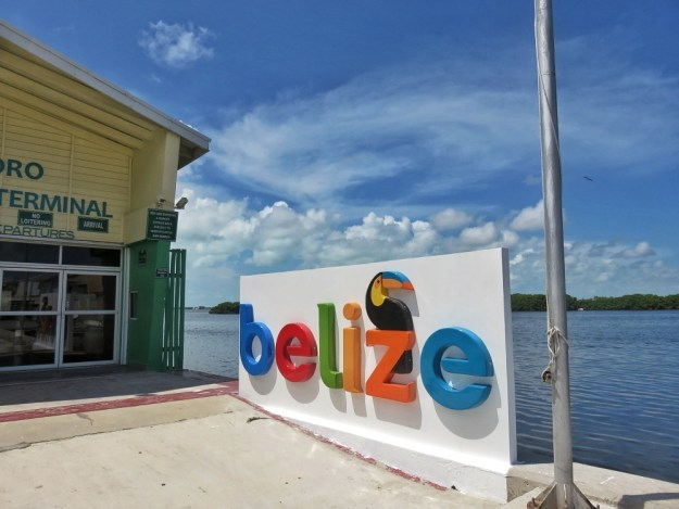 Belize Sign in San Pedro