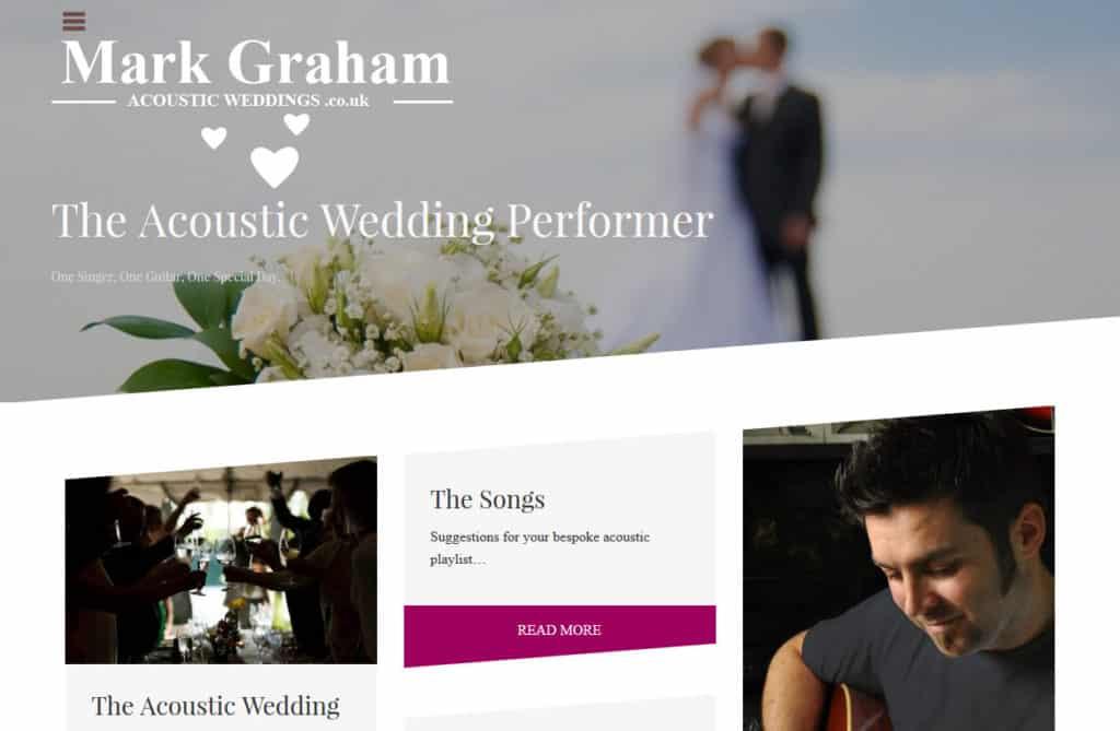 Acoustic Weddings