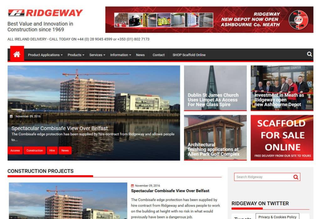 Ridgeway website